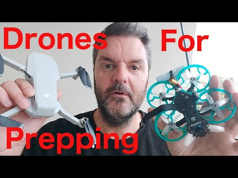 Radio Controlled Drones For Prepping.