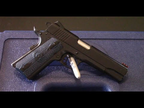 Colt Government Model Competition Series 9mm tabletop review.