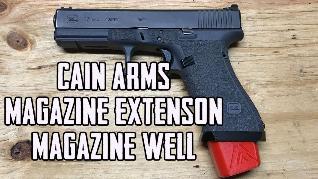 Cain Arms Glock Magwell & Magazine Extension