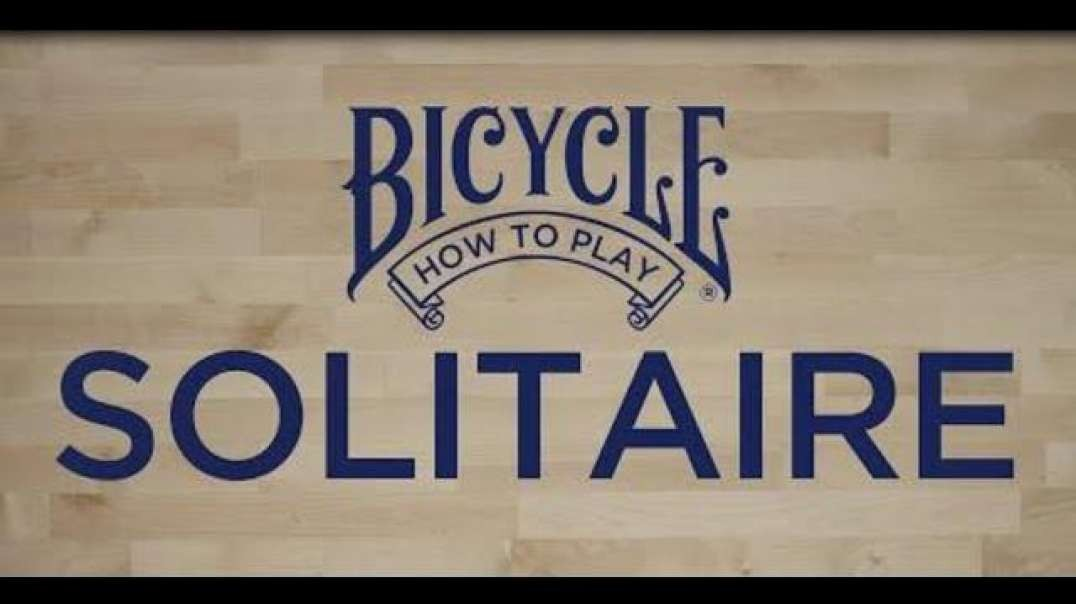 BicycleCards Made In USA Bicycle Playing Cards Solitaire Tutorial & Rules