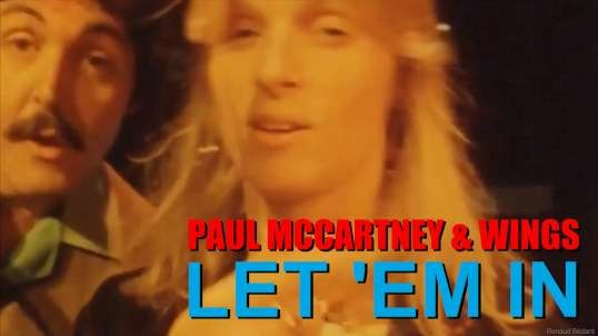 PAUL MCCARTNEY WINGS - LET 'EM IN (1976)