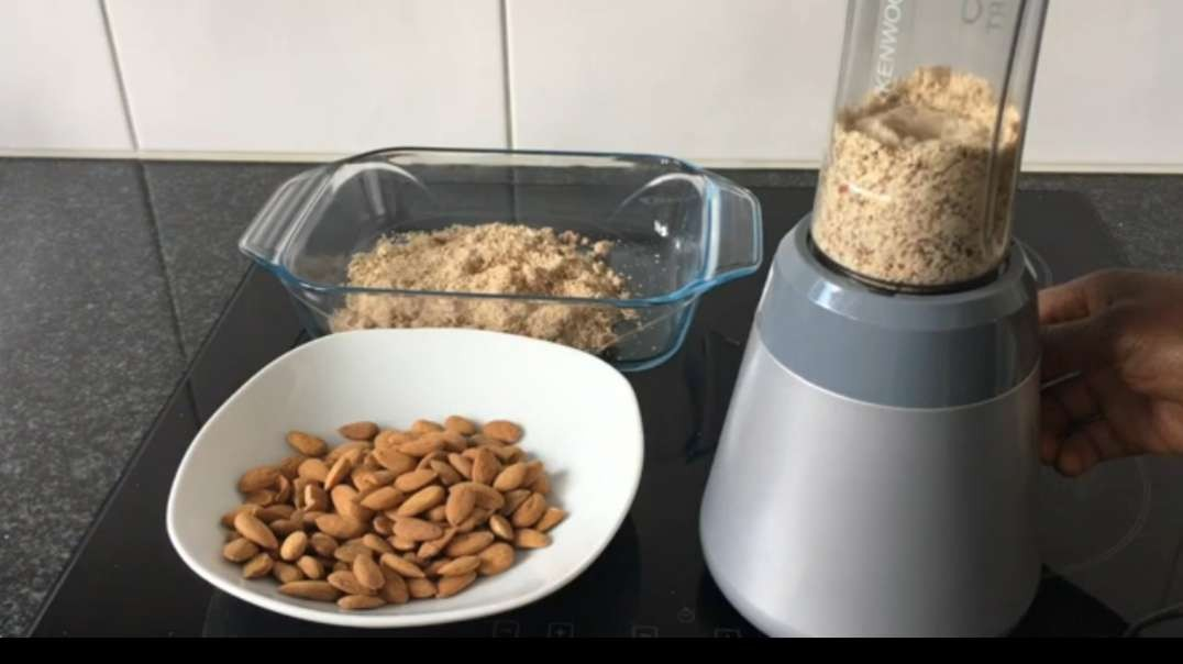 How To Make Cold Pressed Almond Oil - Home-Made.mp4