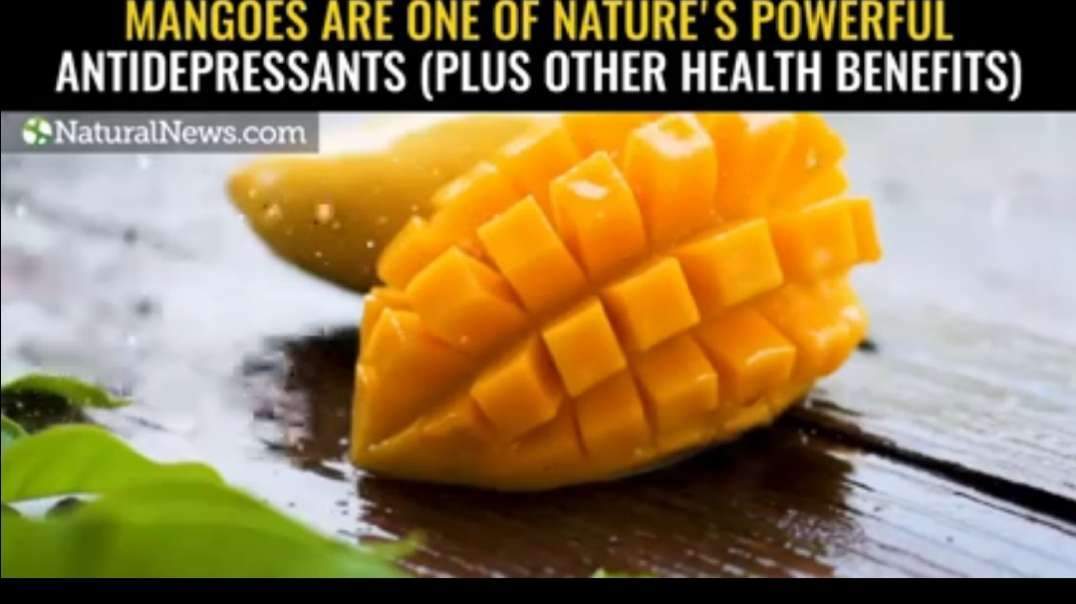 Mangoes are one of nature's powerful antidepressants (plus other health benefits.mp4