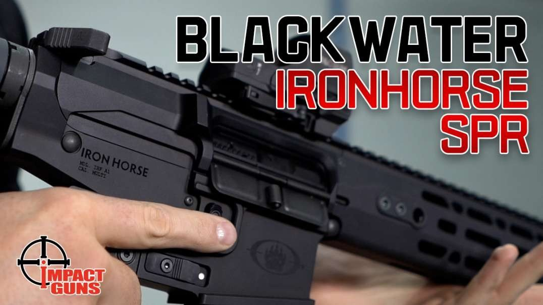 Blackwater Ironhorse SPR - They switched the role of your thumb and index finger.