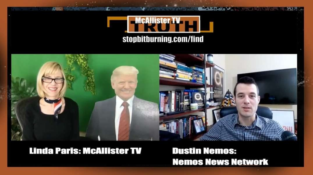 Dustin Nemos & Linda Paris on Election Fraud & The YouTube Purge!