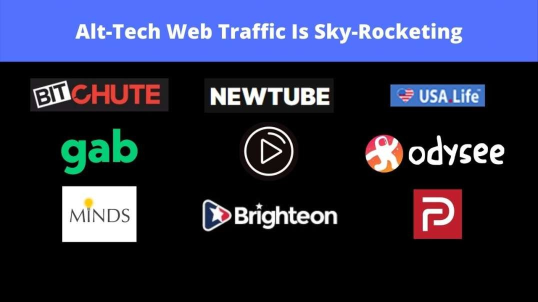 Alt-Tech Traffic Web Traffic Is Sky-Rocketing