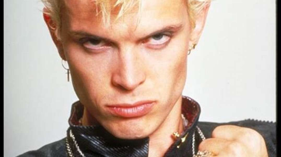 Billy Idol could tell the future, who knew.