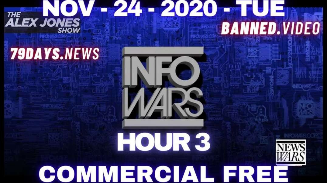 "#AlexJonesShow HR3: Alex Jones: ""This Could Be My Last Broadcast"""