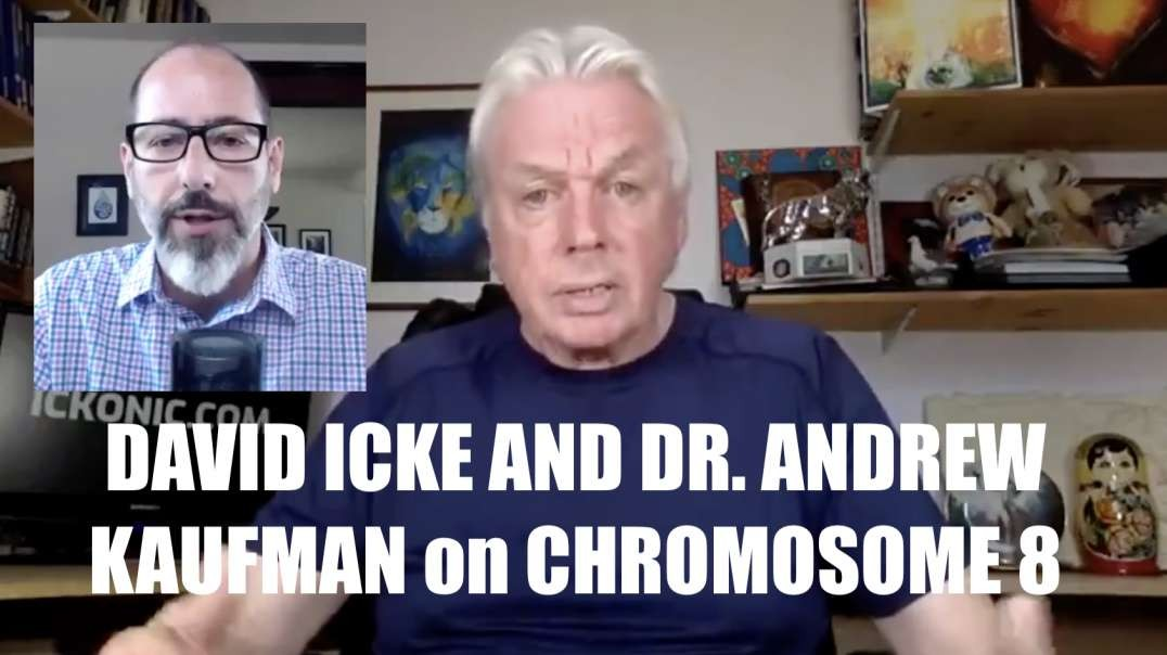 DAVID ICKE AND DR. ANDREW KAUFMAN on CHROMOSOME 8 [MIRROR]