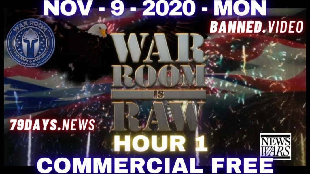 #WarRoomShow HR1: Stop The Steal Caravan Headed to DC as Trump Fights Back Against Deep State