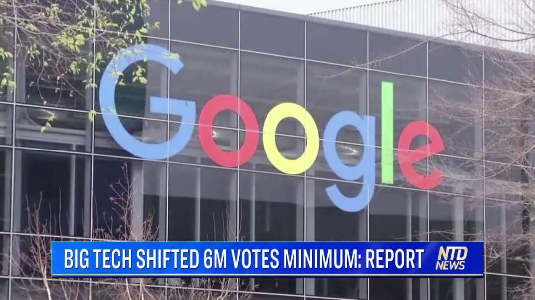 Proven Big Tech Election Interference by a Democrat
