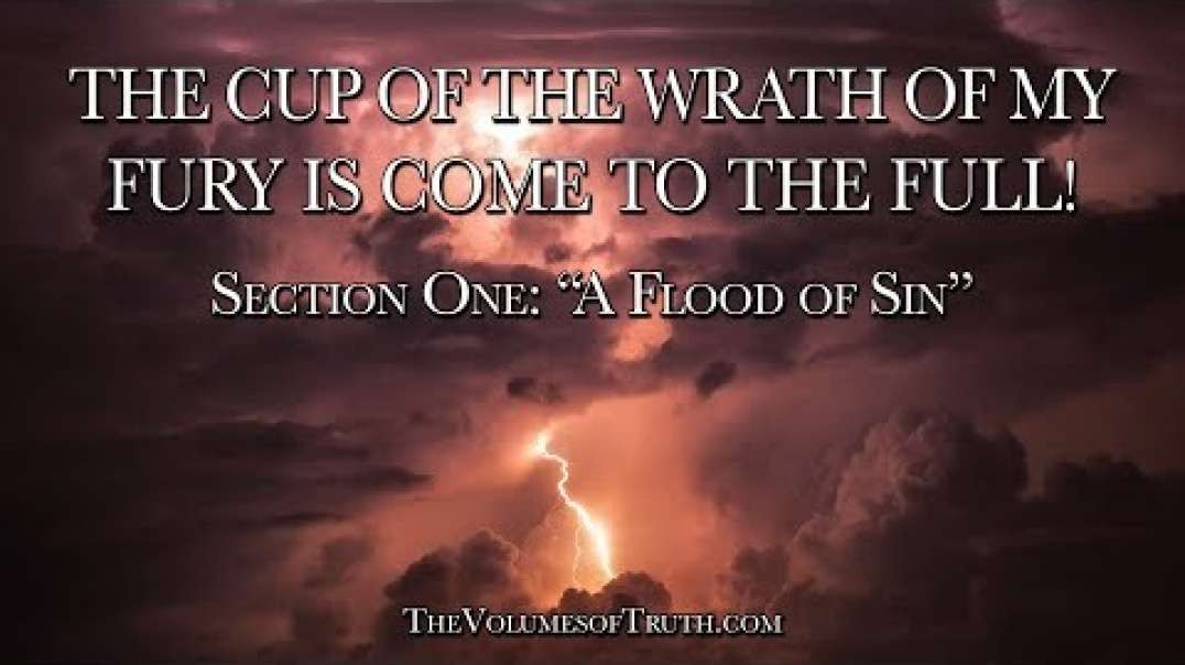 THE CUP OF THE WRATH OF MY FURY IS COME TO THE FULL! - Section 1- 'A Flood of Si.mp4