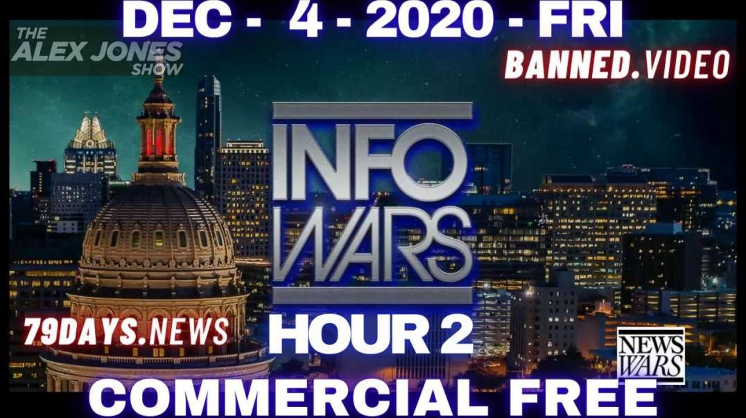 #AlexJonesShow HR2: Trump Team Produces Total Evidence Of Systematic Fraud By Dems/Deep State