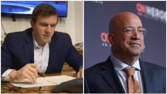 JAMES O'KEEFE LIVE STREAMS CNN PRESIDENT JEFF ZUCKER'S 9AM CALL