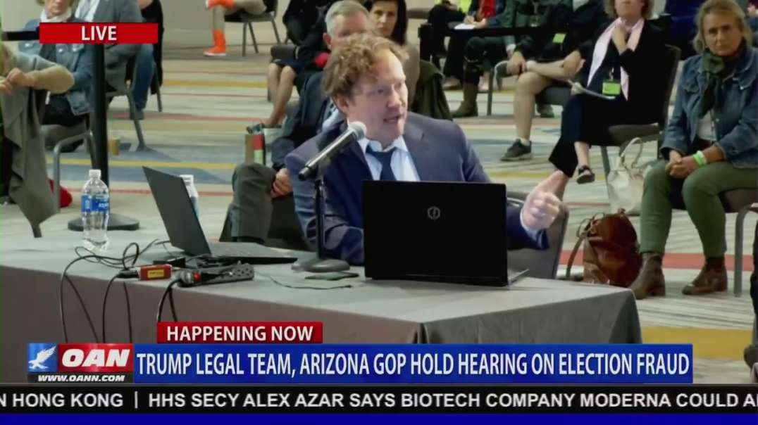 1 min Witness Bobby Piton, Arizona GOP Hearing on Election Fraud
