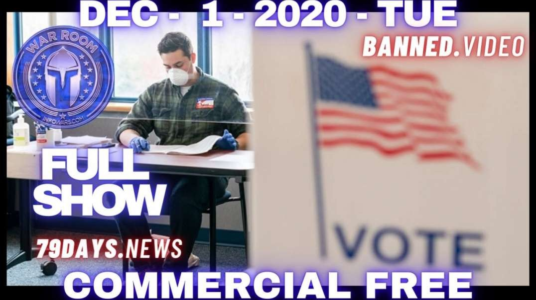 #WarRoomShow Full: Witnesses Testify On MI Voter Fraud; 1000 Of Illegal Votes For Biden