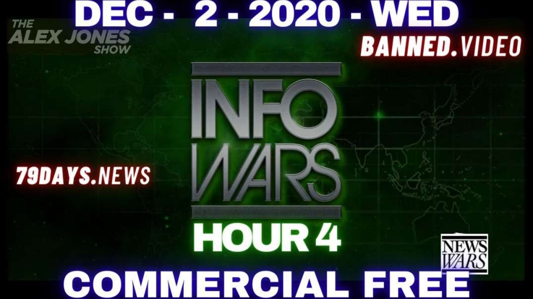 #AlexJonesShow HR4: God is on our side, and humanity is awakening to the globalists' post-human plan