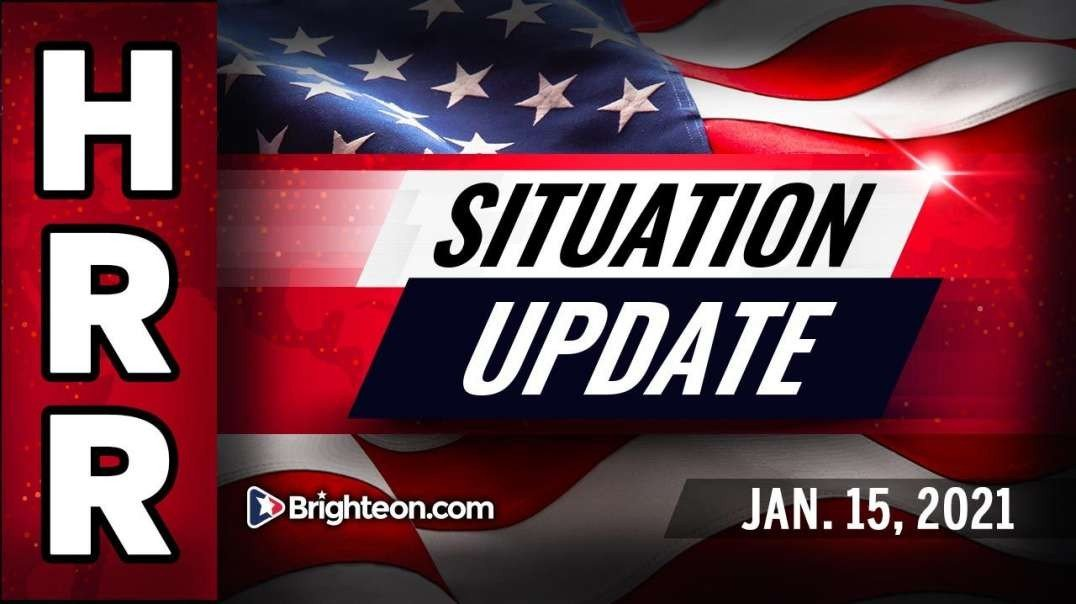 SITUATION UPDATE [2021-01-15] - MIKE ADAMS (VIDEO)