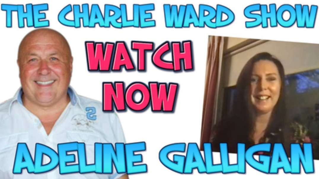 WATER IS LIFE WITH ADELINE GALLIGAN & CHARLIE WARD