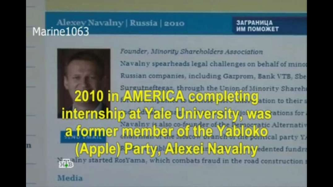 Navalny Deep State Puppet