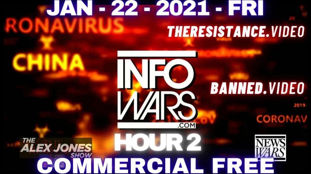 #AlexJonesShow HR2: Humanity Must Come Together & Declare Independence Against The Great Reset.