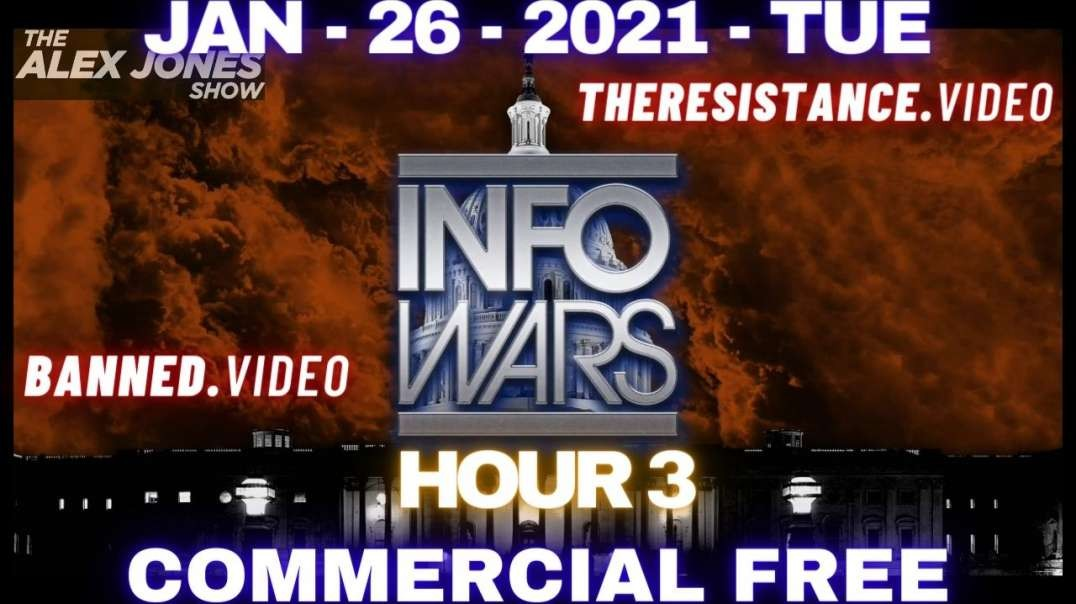 #AlexJonesShow HR3: Democrat Legislation Would Label Half Of Americans Domestic Terrorists