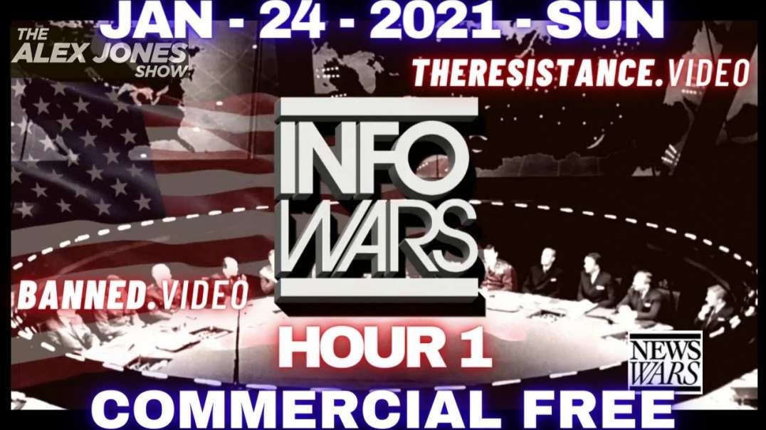 #AlexJonesShow HR1: The Left Call For Total PURGE of ALL Conservative News, Groups, Companies & Org