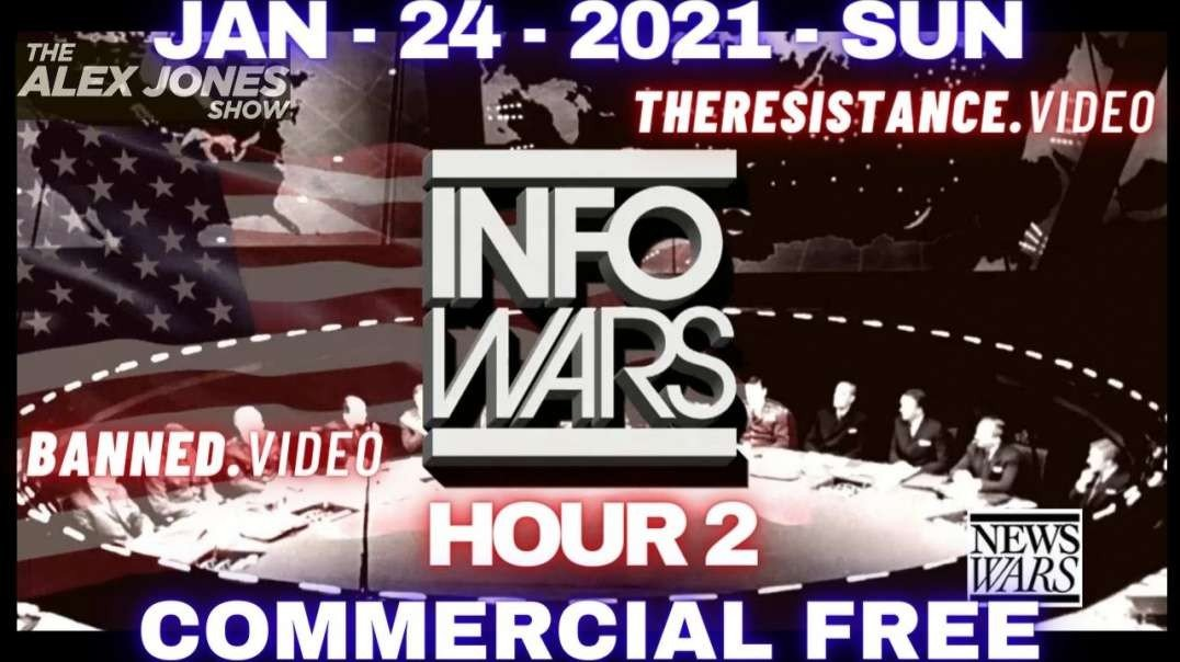 #AlexJonesShow HR2: The Left Call For Total PURGE of ALL Conservative News, Groups, Companies & Org