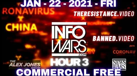 #AlexJonesShow HR3: Humanity Must Come Together & Declare Independence Against The Great Reset.