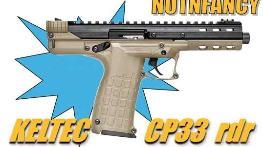 KelTec CP33:  Must Have .22 Blaster