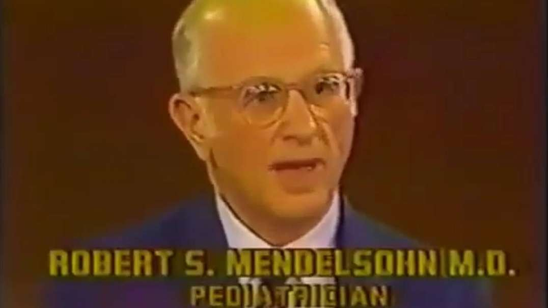 Dr Robert Mendelsohn, MD on The Phil Donahue Show - 1983