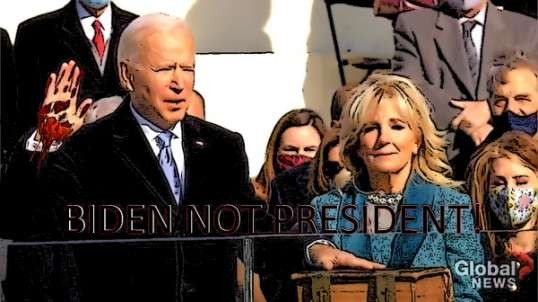 Biden NOt President! Watch Vid!