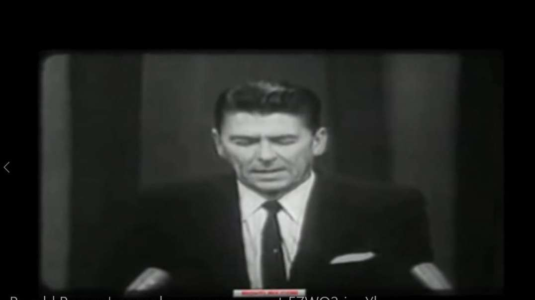 Ronald Reagan's speech on appeasement