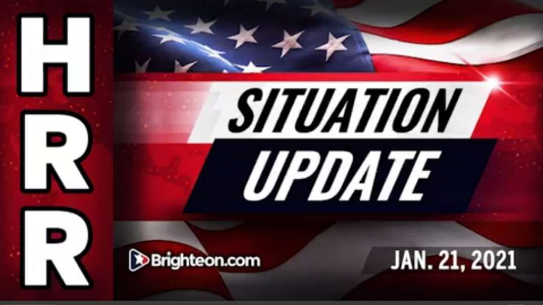 Situation Update, Jan 21, 2021 - The astonishing case for optimism and faith