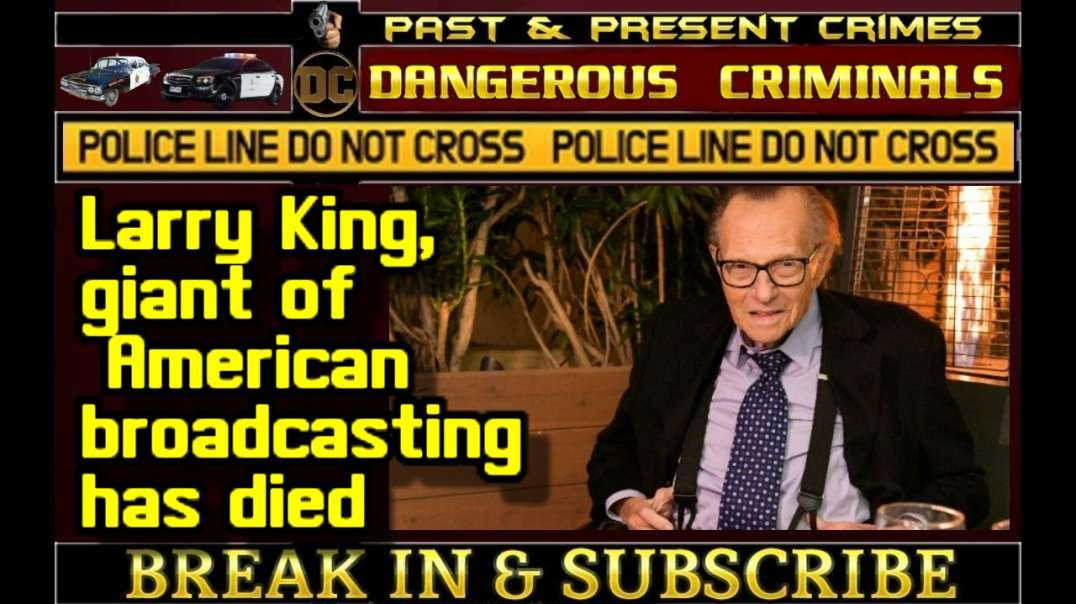 DC - BREAKING NEWS Larry King, giant of American broadcasting, has died aged 87..mp4