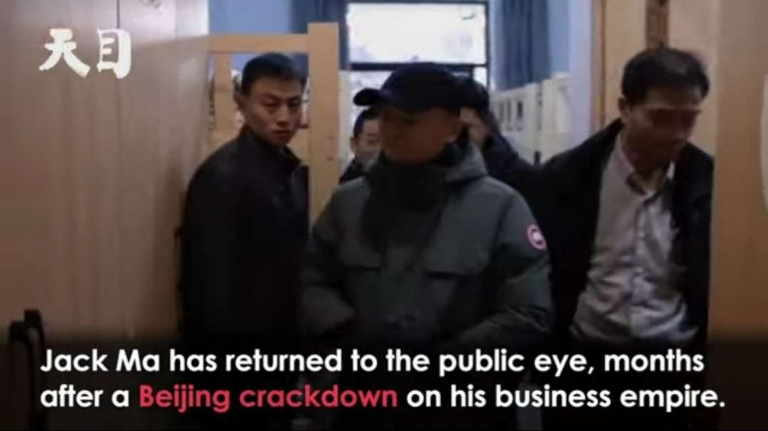 Billionaire Jack Ma Returns After Mysterious Absence and Beijing Crackdown.mp4