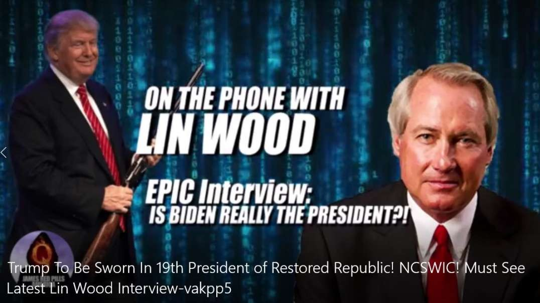 Must See Latest Lin Wood Interview-