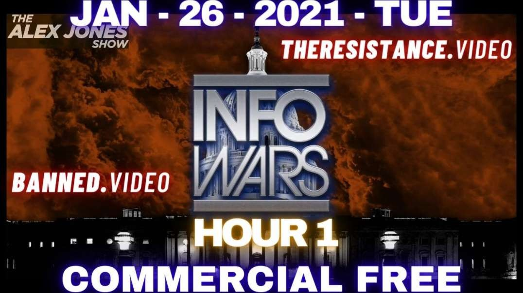 #AlexJonesShow HR1: Democrat Legislation Would Label Half Of Americans Domestic Terrorists