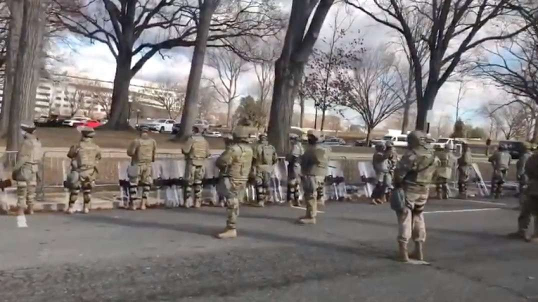 Our Troops Turn Their Backs on Joe Biden 1 20 2021