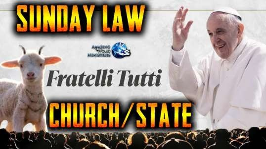 Pope Roman Catholic Social Teaching Against U.S. Constitution. Biden To Govern By Papacy Fratelli Tutti SUNday Law