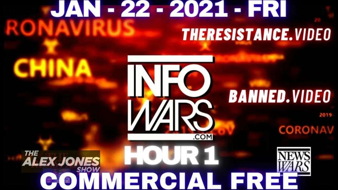 #AlexJonesShow HR1: Humanity Must Come Together & Declare Independence Against The Great Reset.