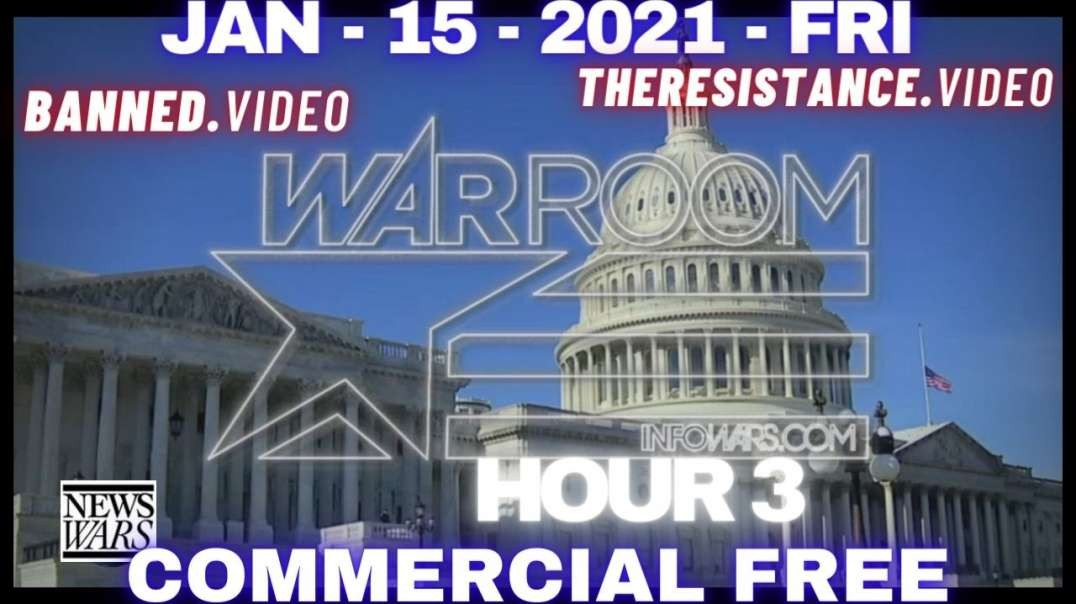 #WarRoom HR3: 25K Troops in DC to Protect Phony Inauguration of America's First Dictator Biden