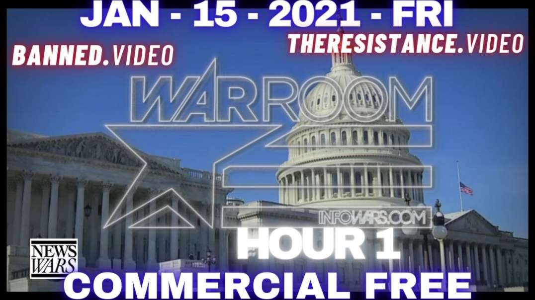 #WarRoom HR1: 25K Troops in DC to Protect Phony Inauguration of America's First Dictator Biden
