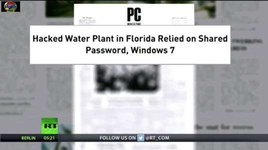 Hackers Tap Into Tampa Bay Area Water System, Water Wars