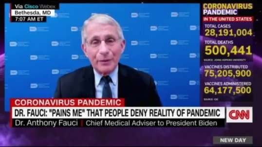 Fauci recommended that fully vaccinated people still shouldnt dine indoors or go to theaters yet