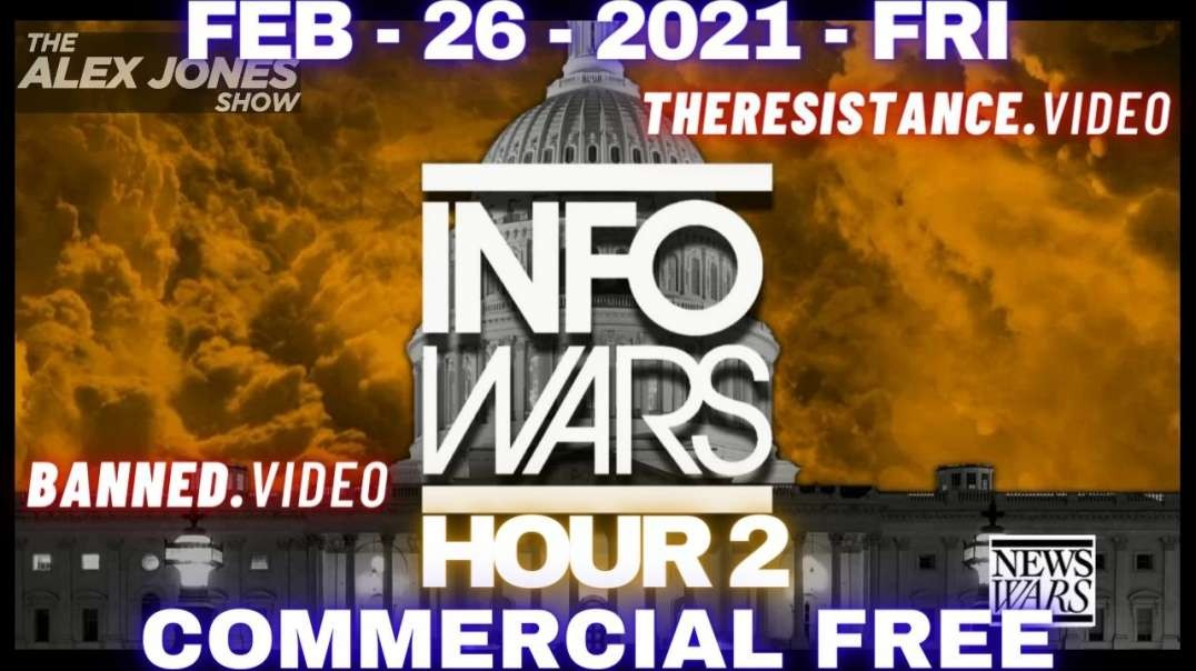 #AlexJonesShow HR2: Massive Victory! Massive Awakening! 75% of US Military Rejects Gates' Poison
