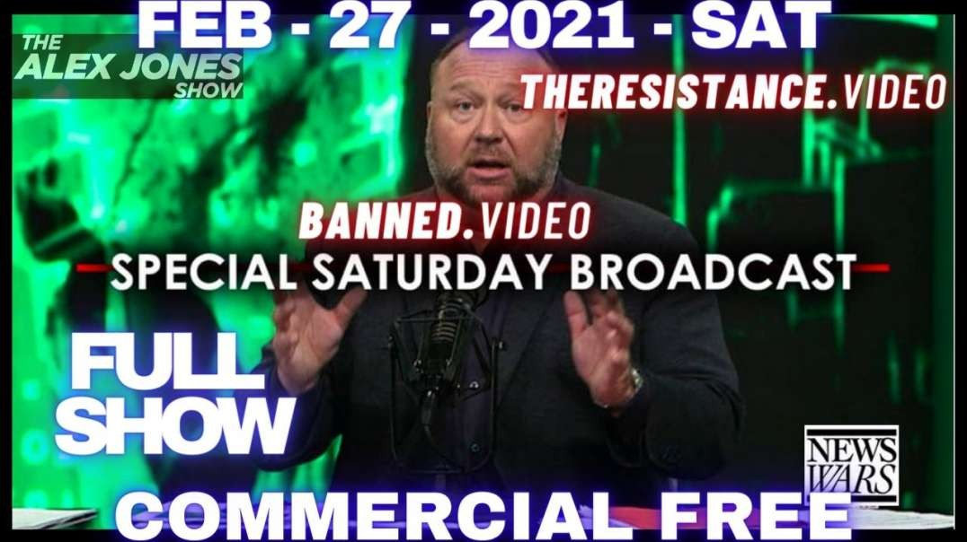 #AlexJonesShow: Special Sat Broadcast! DAVOS Group Takes Credit For Lockdowns/Global Collapse