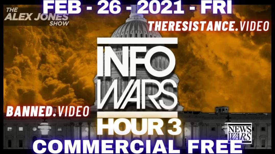#AlexJonesShow HR3: Massive Victory! Massive Awakening! 75% of US Military Rejects Gates' Poison