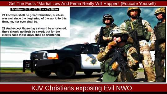 'Get The Facts ''Martial Law And Fema Really Will Happen! (Educate Yourself)