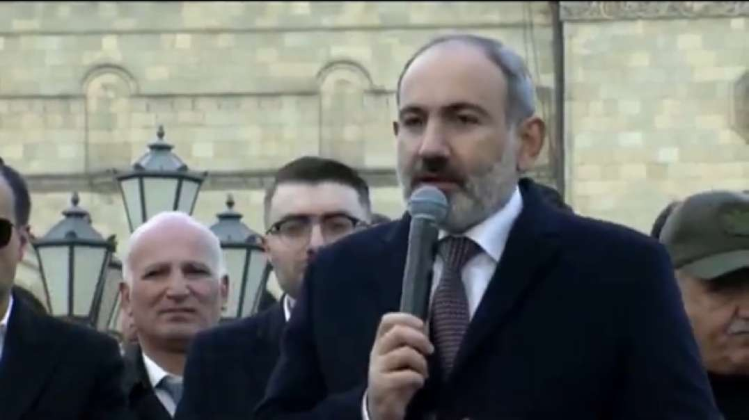 Armenian PM tells army to do its job, says only the people can decide his future